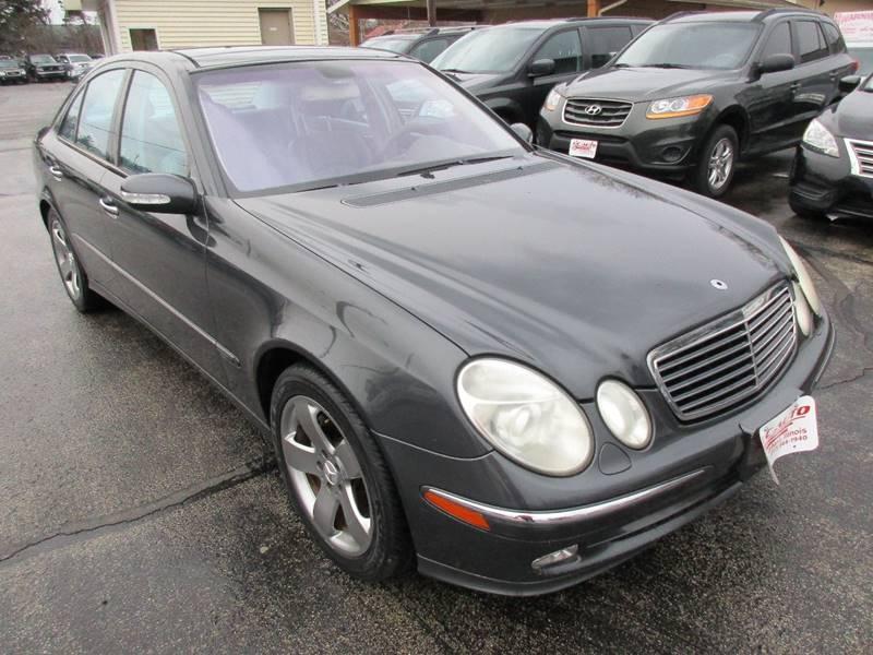 2003 mercedes benz e class e 500 4dr sedan in urbana il u c auto. Black Bedroom Furniture Sets. Home Design Ideas