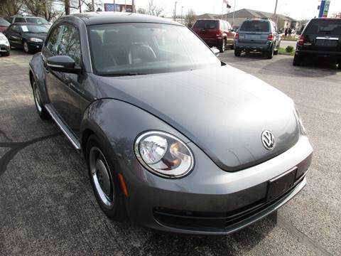 2013 Volkswagen Beetle 2.5L for sale at U C AUTO in Urbana IL