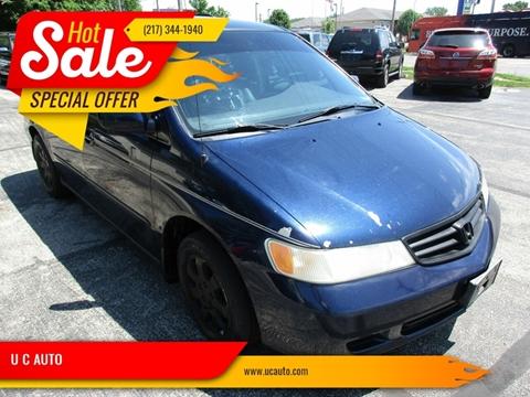 2003 Honda Odyssey for sale in Urbana, IL