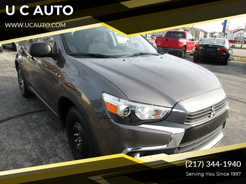 2016 Mitsubishi Outlander Sport for sale in Urbana, IL