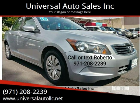 Universe Auto Sales >> Universal Auto Sales Inc Used Cars Salem Or Dealer