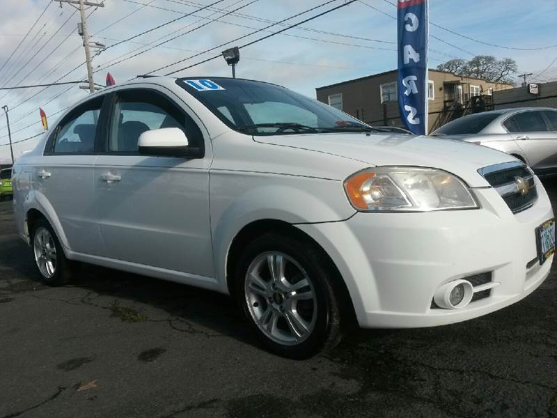 2011 Chevrolet Aveo LT 4dr Sedan W/2LT   Salem OR