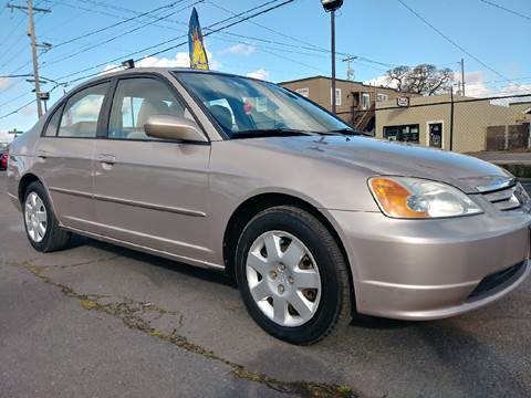 2002 Honda Civic for sale at Universal Auto Sales Inc in Salem OR