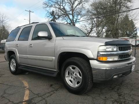 2004 Chevrolet Tahoe for sale at Universal Auto Sales Inc in Salem OR