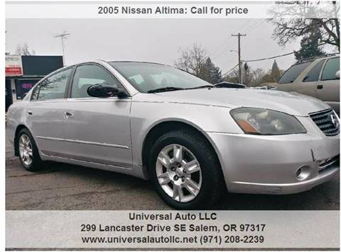 Superb 2005 Nissan Altima For Sale In Salem, OR
