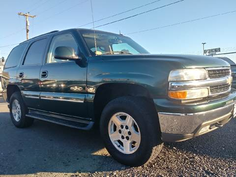 2003 Chevrolet Tahoe for sale at Universal Auto Sales Inc in Salem OR