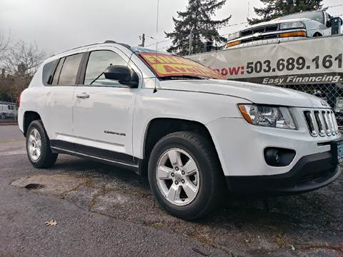 2013 Jeep Compass for sale at Universal Auto Sales Inc in Salem OR