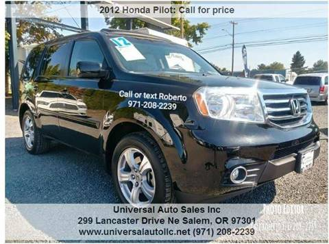 2012 Honda Pilot For Sale In Salem, OR