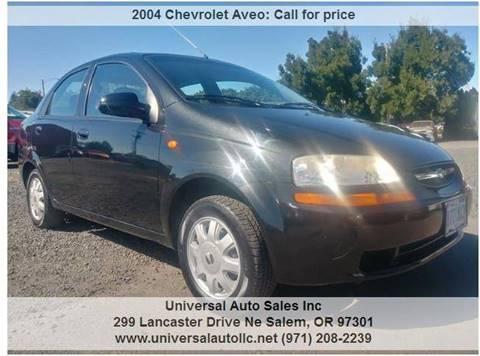 2004 Chevrolet Aveo For Sale In Oregon Carsforsale
