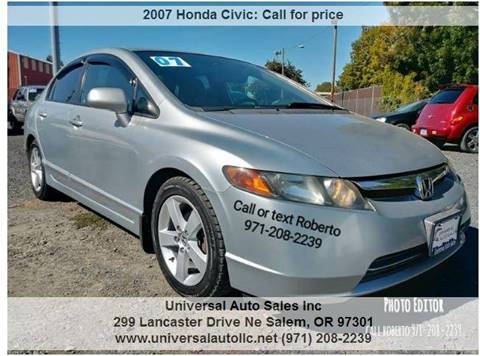 2007 Honda Civic For Sale In Salem, OR