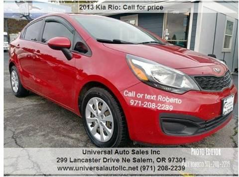 2013 Kia Rio For Sale In Salem, OR
