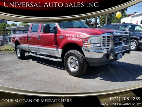 Diesel Truck For Sale >> 2003 Ford F 350 Super Duty For Sale In Salem Or