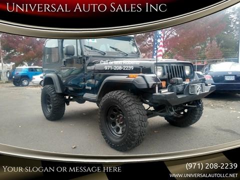 1995 Jeep Wrangler for sale in Salem, OR