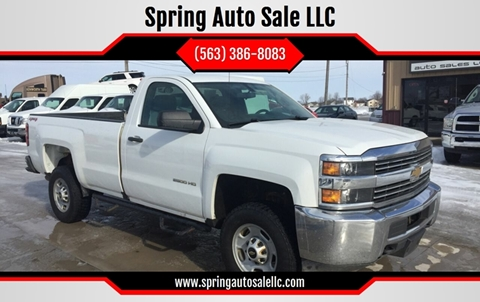 2016 Chevrolet Silverado 2500HD for sale in Davenport, IA
