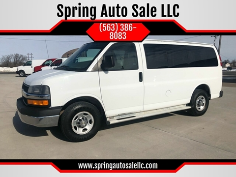 2012 Chevrolet Express Passenger for sale in Davenport, IA
