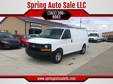 2013 Chevrolet Express Cargo for sale in Davenport, IA