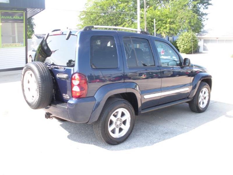 2007 Jeep Liberty Limited 4dr SUV 4WD - Kokomo IN