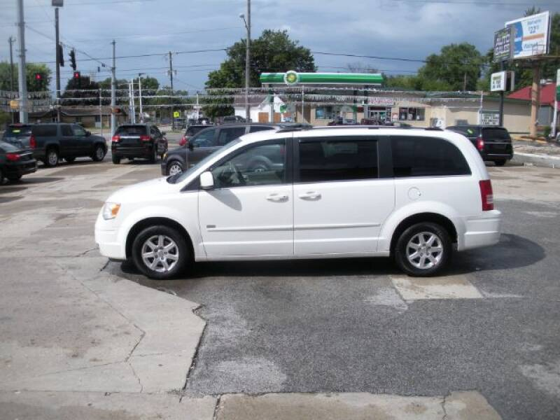 2008 Chrysler Town and Country for sale at Bob Boruff Auto Sales in Kokomo IN