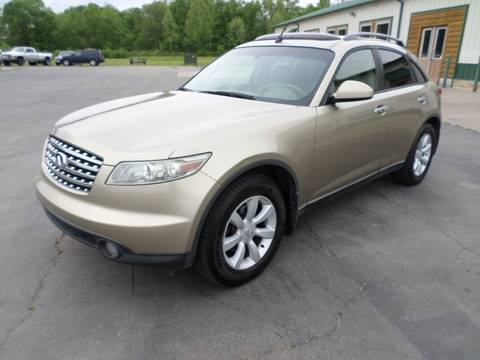 2004 Infiniti FX35 for sale at Farmington Auto Plaza in Farmington MO