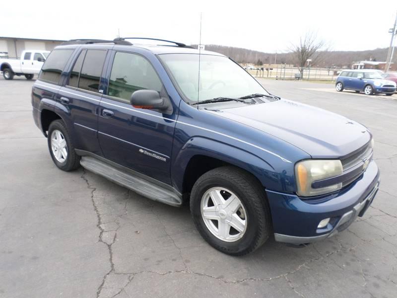 2002 Chevrolet TrailBlazer for sale at Farmington Auto Plaza in Farmington MO
