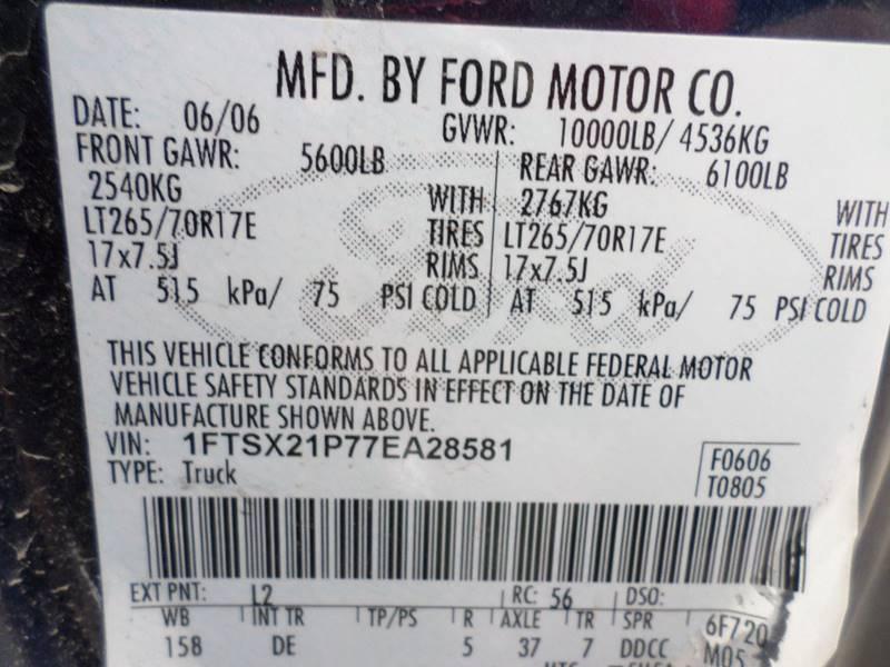 2007 Ford F-250 Super Duty for sale at Farmington Auto Plaza in Farmington MO