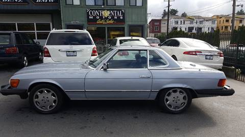 1982 Mercedes-Benz 380-Class for sale in Lake Forest Park, WA