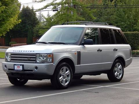 2003 Land Rover Range Rover for sale in Lynnwood, WA