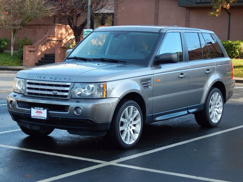 2007 land rover range rover sport supercharged in lynnwood wa seattle finest motors. Black Bedroom Furniture Sets. Home Design Ideas