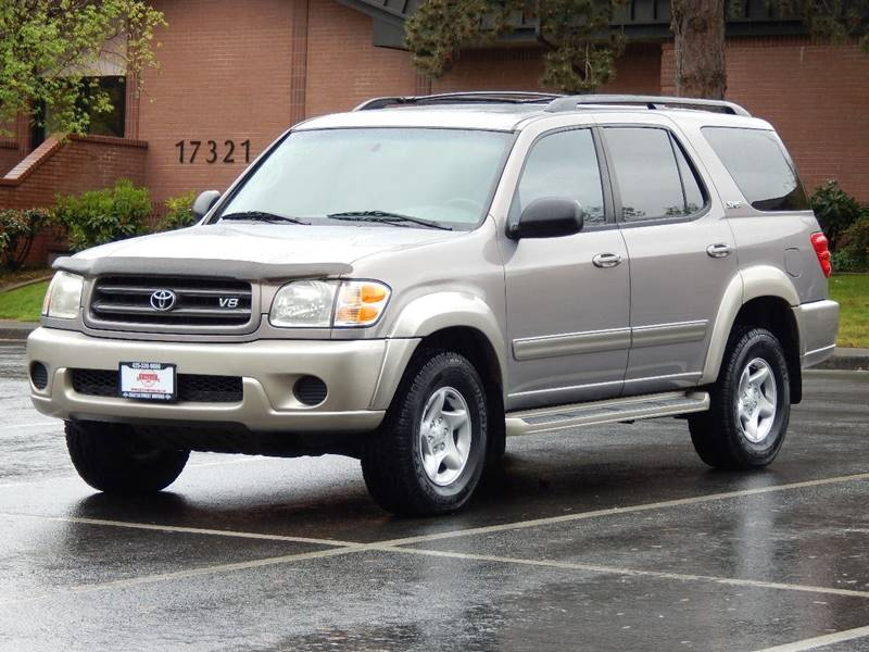 2001 toyota sequoia sr5 in lynnwood wa seattle finest motors. Black Bedroom Furniture Sets. Home Design Ideas
