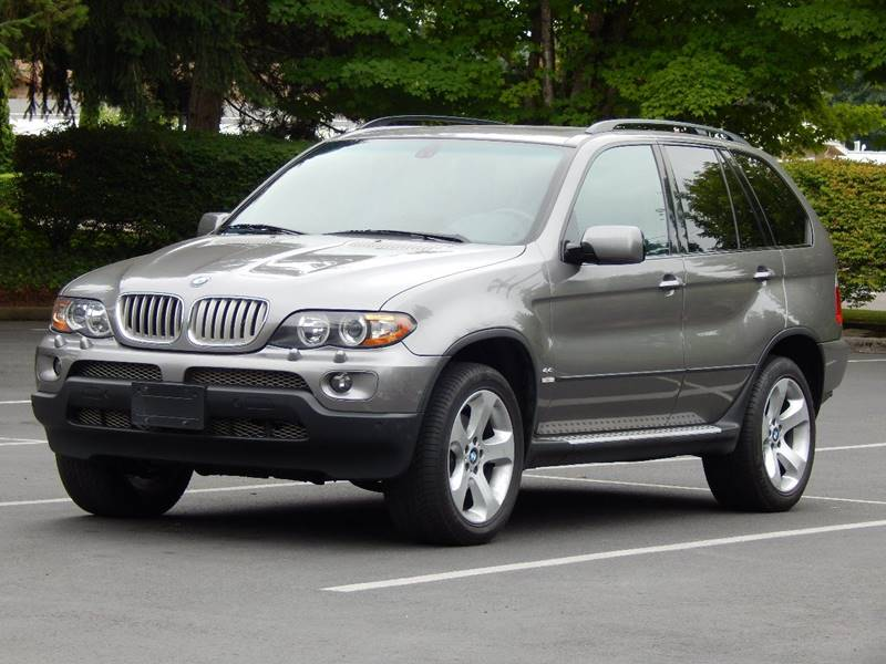 2005 Bmw X5 AWD 4.4i 4dr SUV In Lynnwood WA - SEATTLE FINEST MOTORS