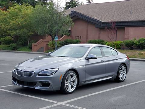 2016 BMW 6 Series for sale in Lynnwood, WA