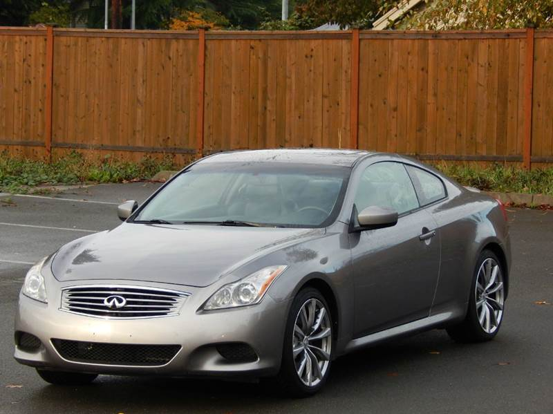 2008 Infiniti G37 Sport In Lynnwood Wa Seattle Finest Motors
