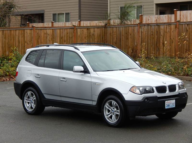 2004 Bmw X3 3.0i AWD 4dr SUV In Lynnwood WA - SEATTLE FINEST MOTORS