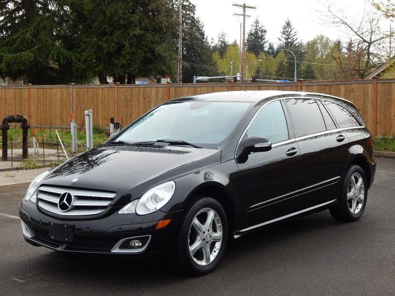 2006 Mercedes Benz R Class For Sale At SEATTLE FINEST MOTORS In Lynnwood WA