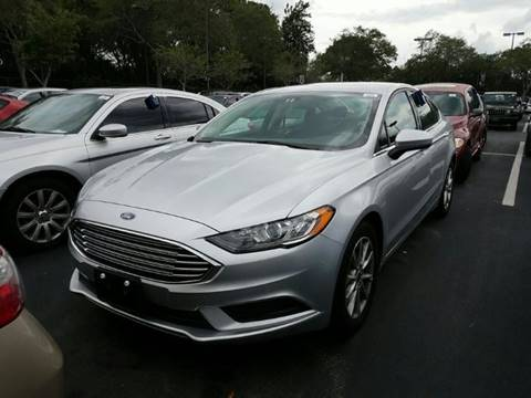2017 Ford Fusion for sale in Shelbyville, KY