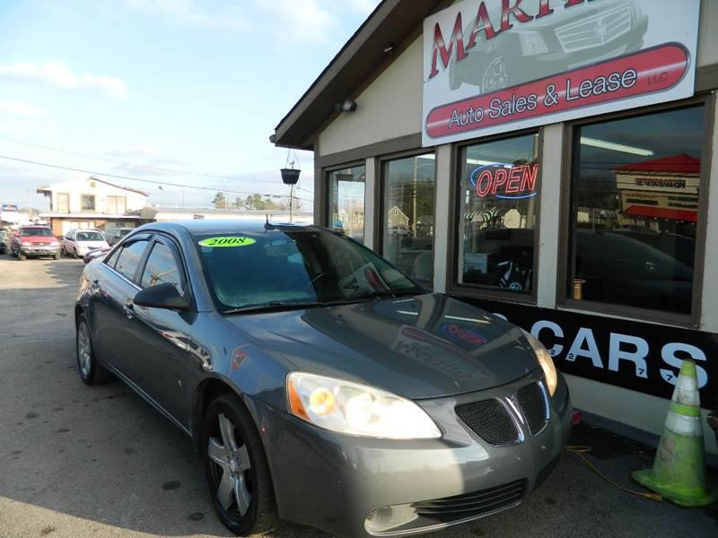 2008 Pontiac G6 for sale at Martins Auto Sales in Shelbyville KY