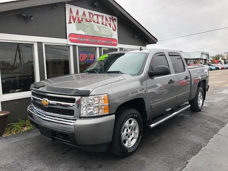 2008 Chevrolet Silverado 1500 for sale at Martins Auto Sales in Shelbyville KY