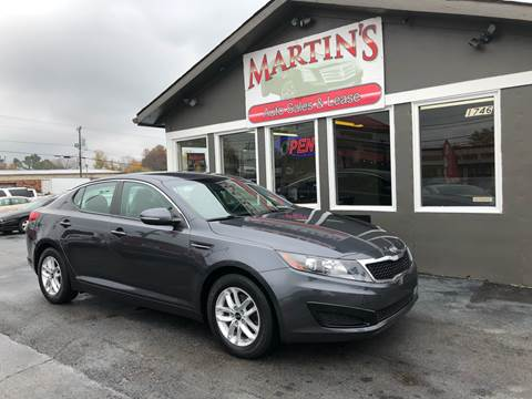 2011 Kia Optima for sale at Martins Auto Sales in Shelbyville KY