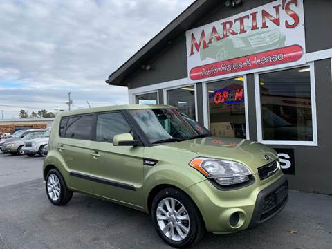 2013 Kia Soul for sale at Martins Auto Sales in Shelbyville KY