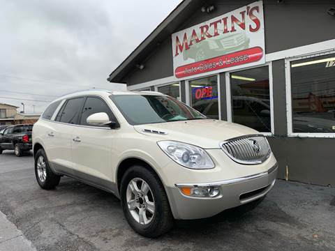 2009 Buick Enclave for sale at Martins Auto Sales in Shelbyville KY