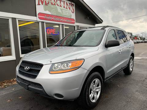 2009 Hyundai Santa Fe for sale at Martins Auto Sales in Shelbyville KY