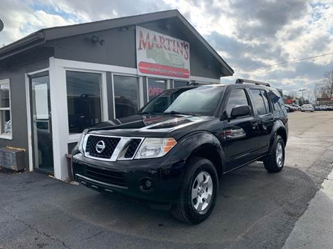 2008 Nissan Pathfinder for sale at Martins Auto Sales in Shelbyville KY