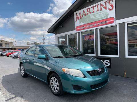 2010 Toyota Corolla for sale at Martins Auto Sales in Shelbyville KY
