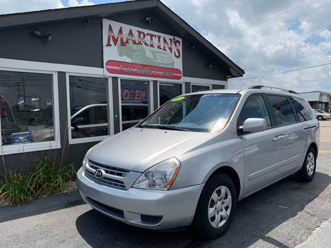 2010 Kia Sedona for sale at Martins Auto Sales in Shelbyville KY