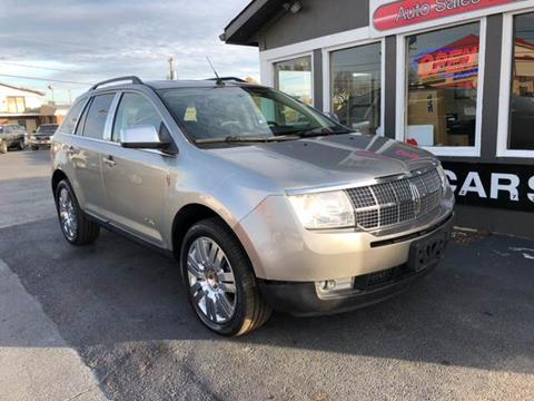 2008 Lincoln MKX for sale at Martins Auto Sales in Shelbyville KY
