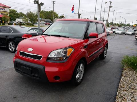 2010 Kia Soul for sale at Martins Auto Sales in Shelbyville KY