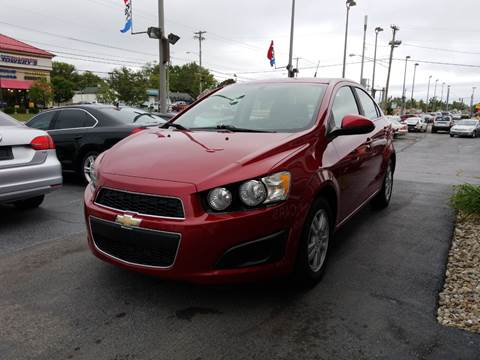 2014 Chevrolet Sonic for sale at Martins Auto Sales in Shelbyville KY