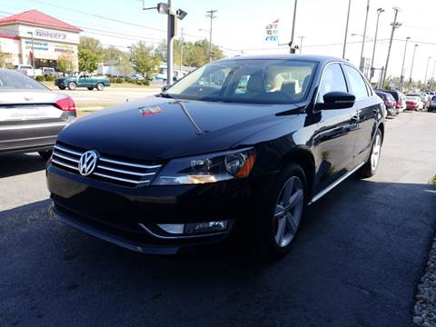 2013 Volkswagen Passat for sale at Martins Auto Sales in Shelbyville KY