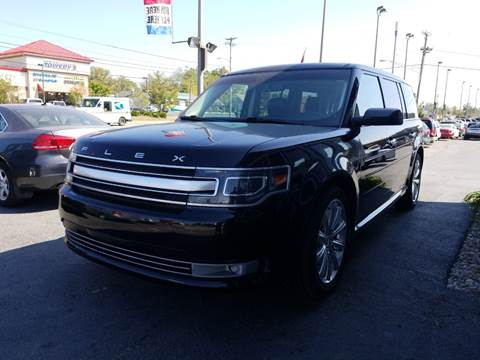 2014 Ford Flex for sale at Martins Auto Sales in Shelbyville KY