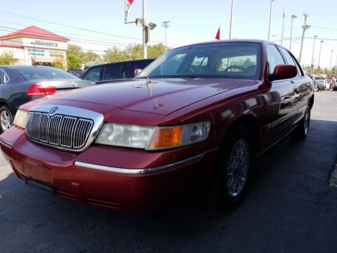 2001 Mercury Grand Marquis for sale at Martins Auto Sales in Shelbyville KY
